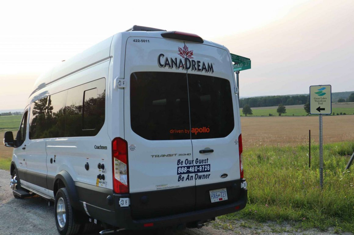 Great-Lakes-Waterfront-Trail-Grey-County-Ontario-Ned-Morgan-photo-CanaDream-RV-Deluxe-camper-van